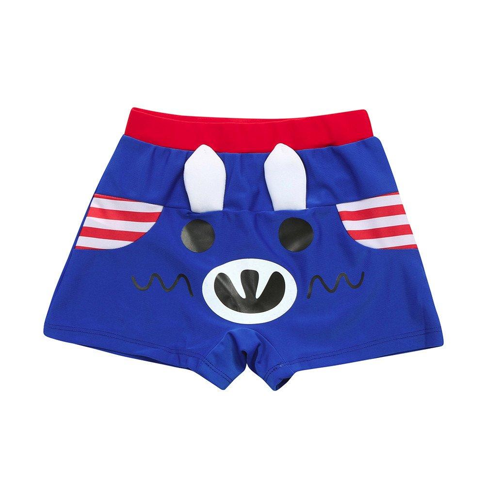 Logobeing Verano Niño Traje de Baño de Dibujos Animados Pantalones Cortos Ropa Pantalones Cortos Para Niños Pantalones de Traje Bañador Para Niño 3-6Años)