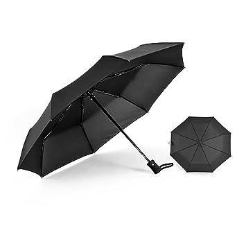 """60 mph """"irrompible automático abrir/cerrar paraguas de viaje compacto"""" garantía de"""