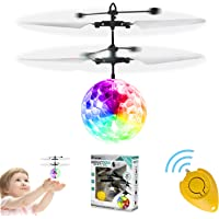 Flying Ball Toys, GALOPAR Rechargeable Ball Drone Light Up RC Toy for Kids Boys Girls Gifts, Infrared Induction Helicopter with Remote Controller for Indoor and Outdoor Games