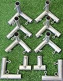 kart frame - Cimarron Sports Training Aids 10x10x10 Golf Frame Corner Kit