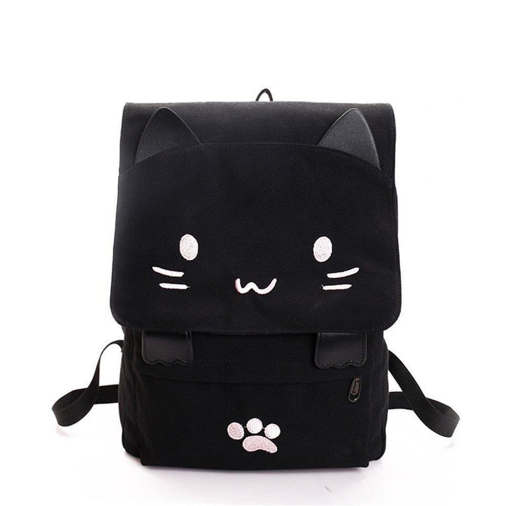 Mai Poetry large-capacity Bag Cute Cartoon Shoulder Bag Cat Backpack