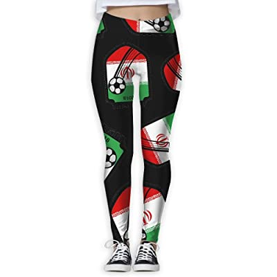 2018-football-Iran Women Printed Design Leggings Activewear Lightweight Legging Yoga Pants
