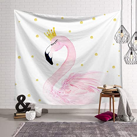 mmzki Pink Girl Heart Nordic Dormitorio Decoración Tela ...