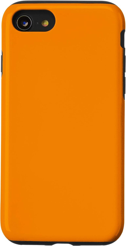 iPhone SE (2020) / 7 / 8 Solid Tangerine Color Decor Casual Fall Summer Autumn Cute Case