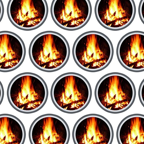 Campfire Camping Wrapping Paper for these Fun Camping Wrapping Paper And Creative Gift Wrap Ideas
