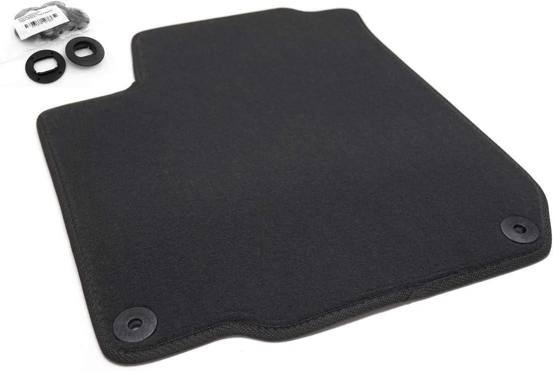 Fußmatte Passend Für Golf 4 Iv Premium Velours Qualität Automatte Schwarz Fahrermatte Auto