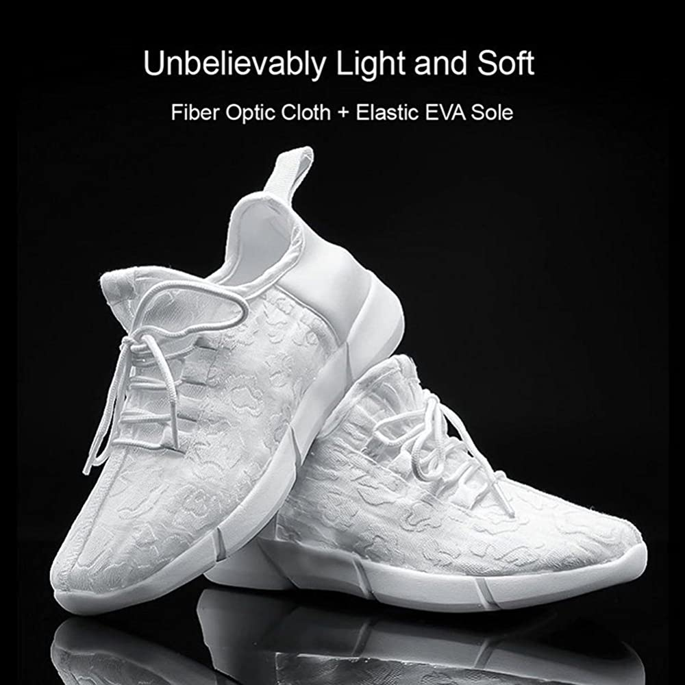 glowing sole shoes