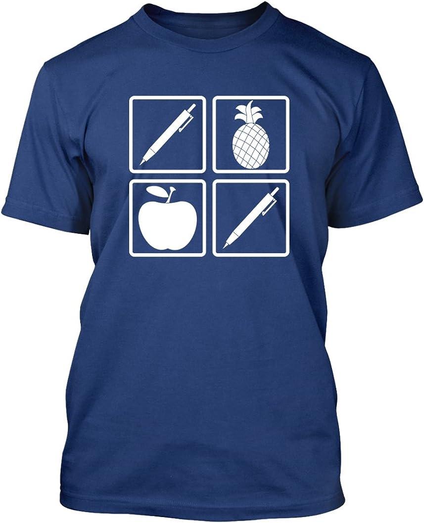 Pen Pineapple Apple Pen #288 - Adult Men's T-Shirt