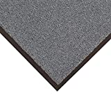 Notrax 434-329 Atlantic Olefin 4' x 8' Gunmetal Floor Mat
