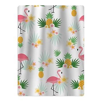 Toalla de baño para bebé, diseño de flores tropicales de piñas, diseño de flamencos: Amazon.es: Hogar