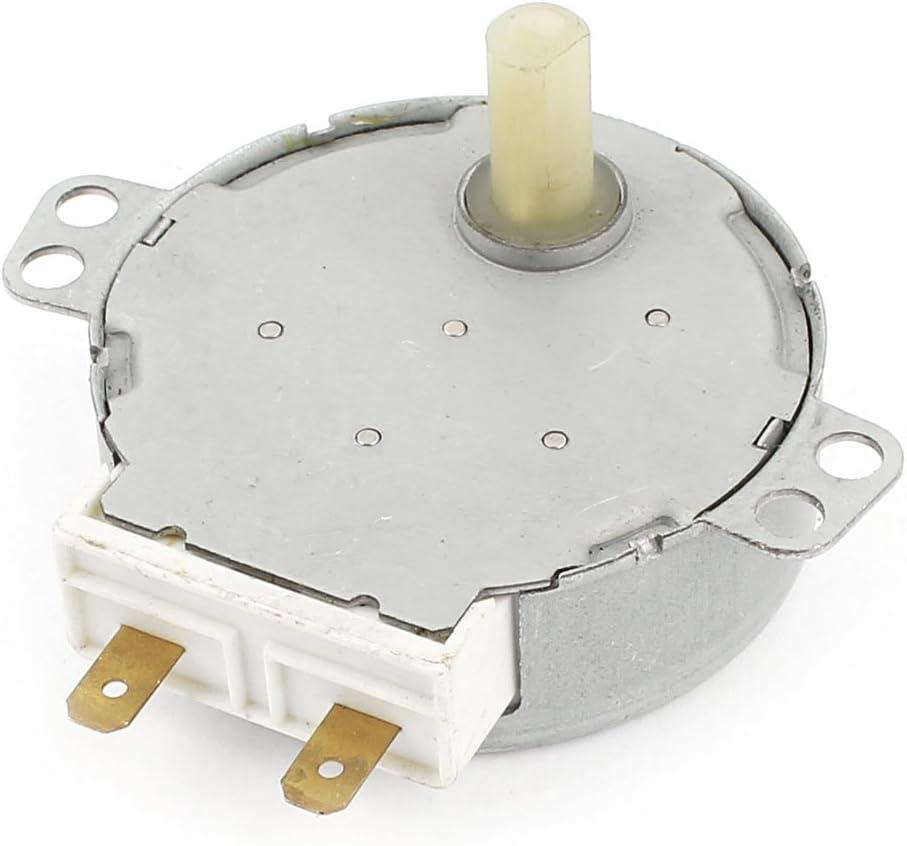 sourcingmap Horno Microondas Plato giratorio Motor Sincrónico 4W 5RPM AC 220/240V
