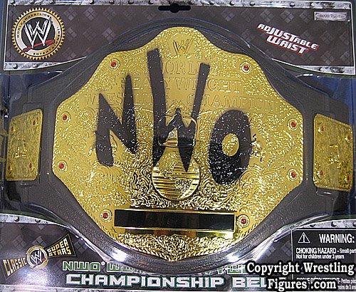 NWO CHAMPIONSHIP KID SIZE TOY WWE WRESTLING - Wwe Storage