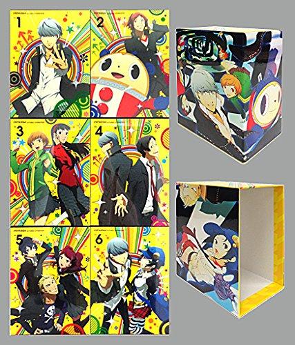ペルソナ4 ザゴールデン (完全生産限定版) 全6巻セット 全巻収納BOX付き 【マーケットプレイス blu-rayセット】 B0783NYKBJ