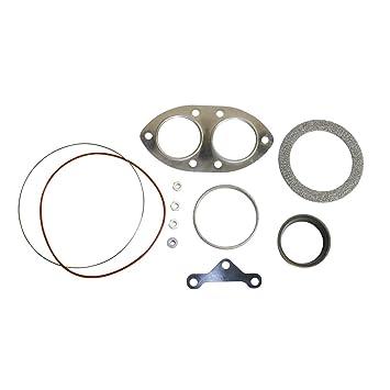BD Diesel 179618 Twin Turbo tuberías y fontanería instalación Kit de presión alta y baja presión
