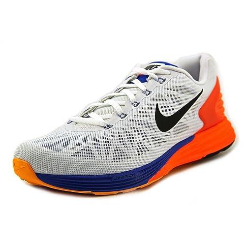30bc5e553680 Nike - Lunarglide 6-654433101 - Color  Blue-Orange-White - Size  42.0 EUR   Amazon.ca  Shoes   Handbags