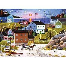 Buffalo Games - Charles Wysocki - Whaler's Bay - 1000 Piece Jigsaw Puzzle