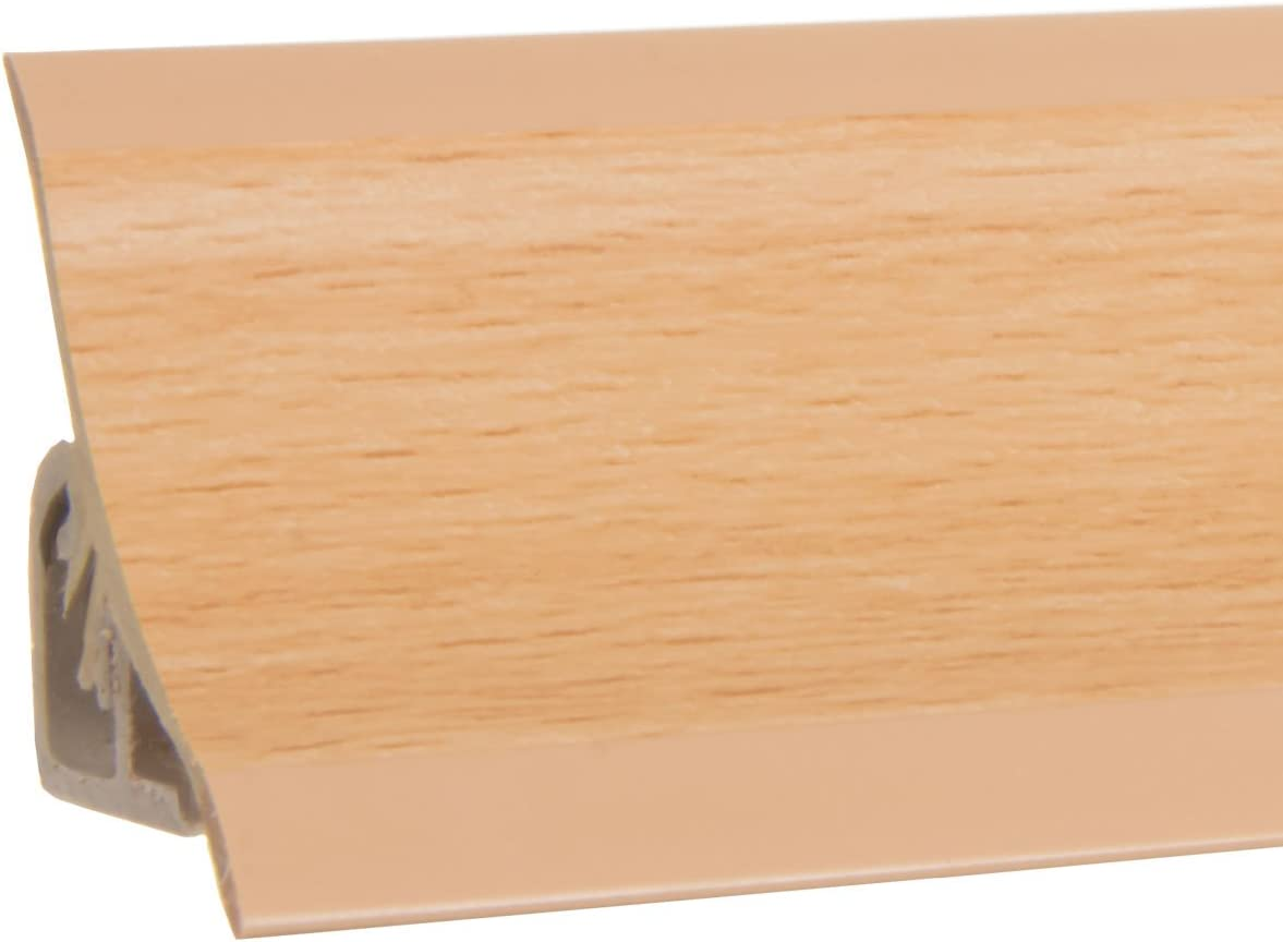 HOLZBRINK Plinthe de Comptoir de Cuisine 23x23 mm 150 cm H/être de Finition PVC Finition du Comptoir de Cuisine