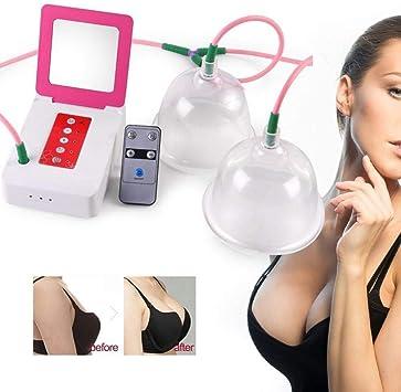 Aspirador eléctrico Aspirador Masajeador para agrandar la mama ...