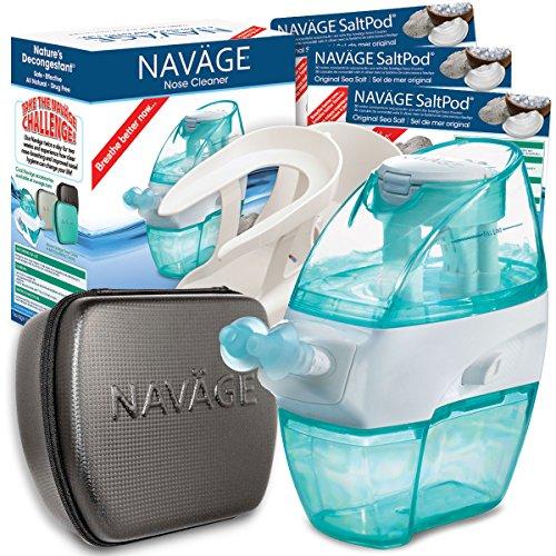 Navage Nasal Irrigation Deluxe Bundle