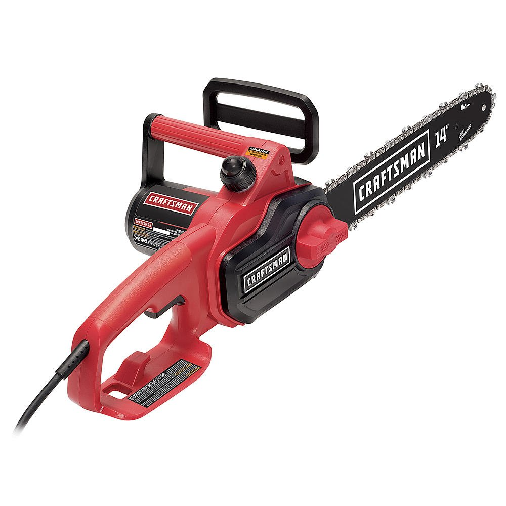Craftsman 14'' Electric Corded Chainsaw by Craftsman!
