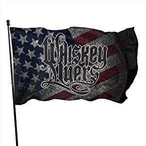 ZeldaRRay Whiskey Myers Logo Garden Flag Home House Yard Party Activities Banner Decorative Flag 3x5 Ft