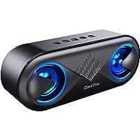 ZoeeTree S8 - Altavoz Bluetooth Portatiles, Altavoces Coche, 10W HD y Altavoz para movil, Bluetooth 5.0, 12 Horas, Llamadas Manos Libres, 3.5mm AUX/Ranura para Tarjetas TF