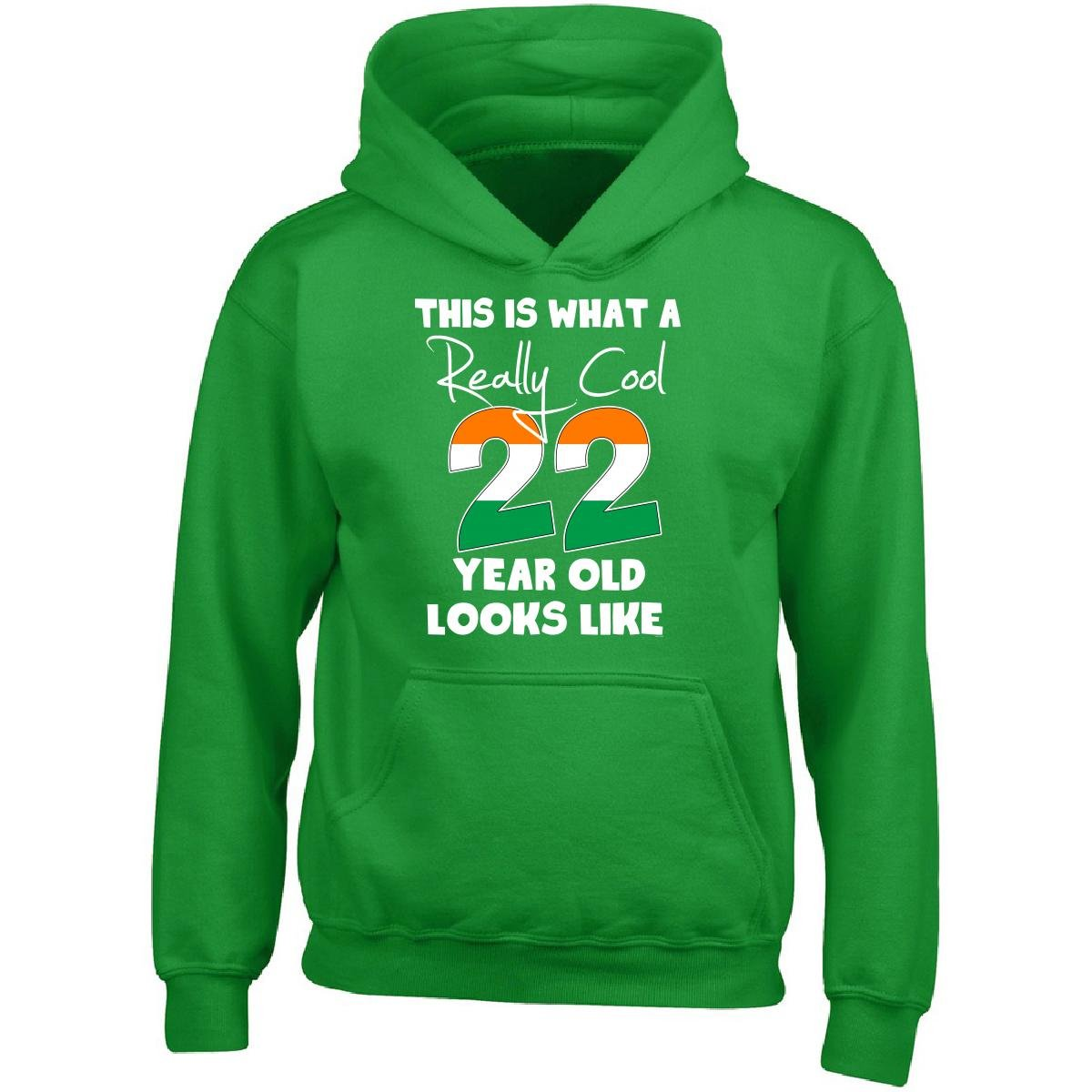 BADASS REPUBLIC Irish 22nd Birthday Gift Ideas For Men Or Woman Adult Hoodie