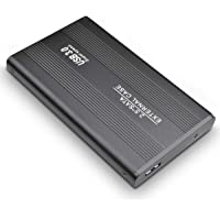 Disco Duro Externo, Toshaan Disco Duro Externo 1 TB 2TB para PC, Mac, Desktop, Laptop, MacBook, Chromebook, Xbox One (2TB, Negro)