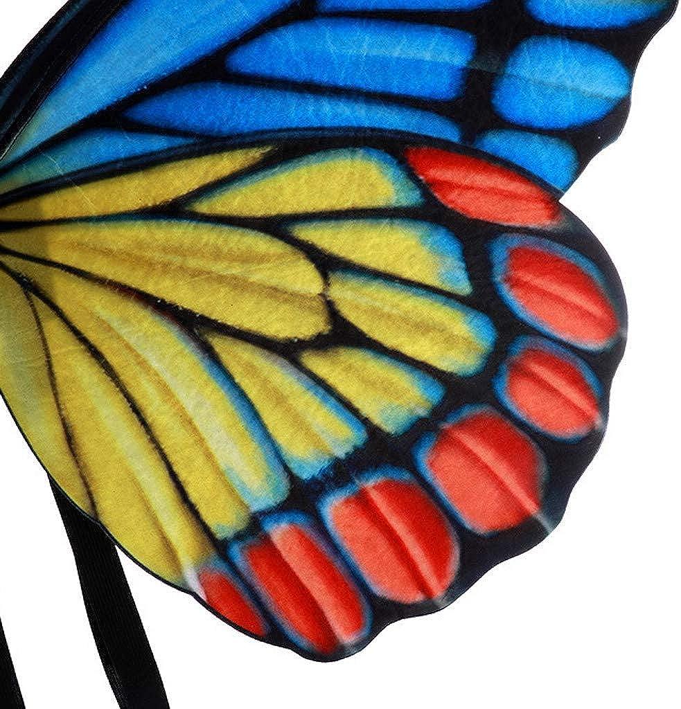 Damen Kinder M/ädchen Jungen Bunte Fasching Kost/üm Zubeh/ör Accessories Gurt Schmetterling Fl/ügel Cosplay Schwer Schmetterlingsfl/ügel Verkleiden Sich Kost/ümzubeh/ör Zusammenklappbar Fl/ügel