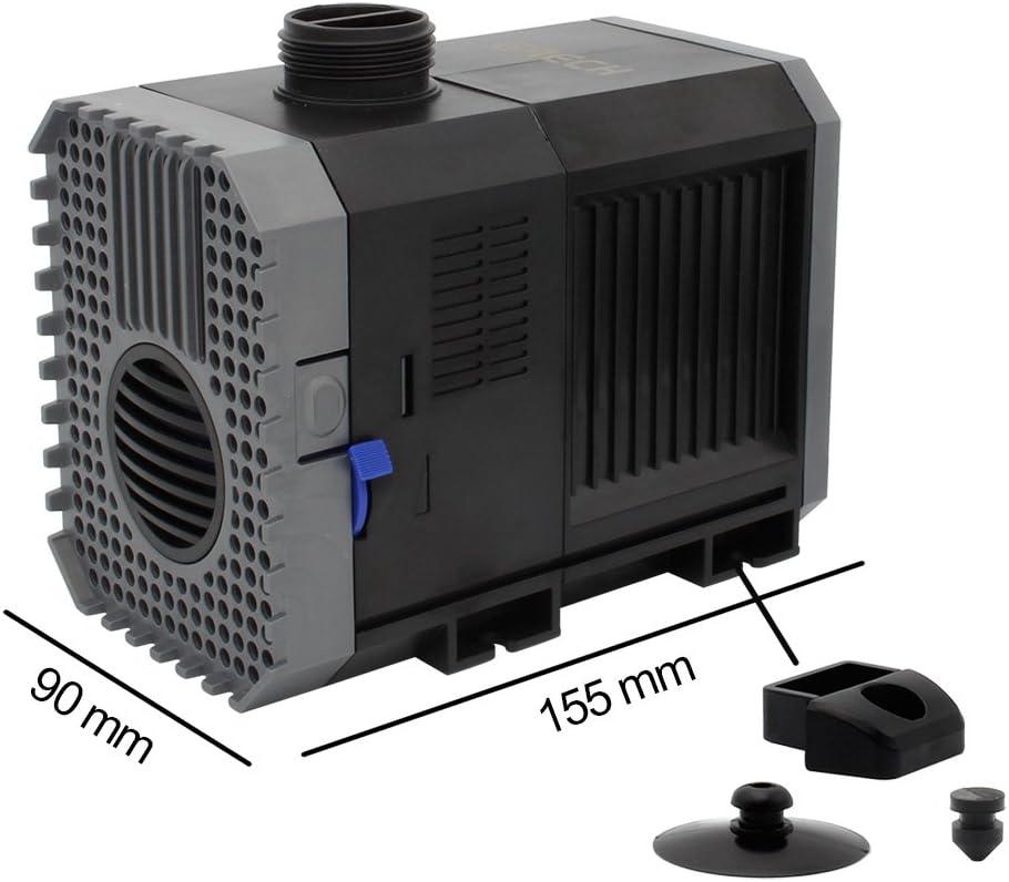 SPEED Bomba sumergible bomba de filtraci/ón estanque Bomba bomba de ECO bomba de flujo(3000l//h)