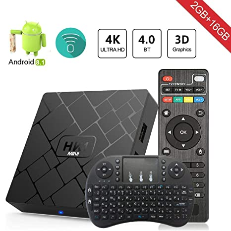 A95X R1 Smart Android7.1 TV Box RK3229 Quad Core 8GB HD 4K*2K WiFi Media Player