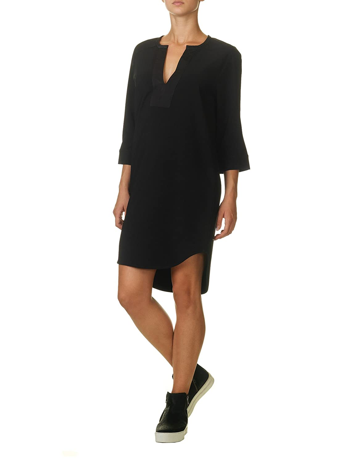 Soft Rebels Women's Plus Tunic Women's Black Dress