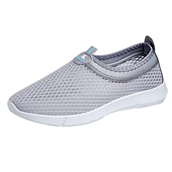 low priced f0c34 4bf3b Bluestercool Chaussures Aquatiques Hommes Engrener Respirant Sneakers  Sandales de Plage Chaussures de Sport Cricket Cyclisme Football