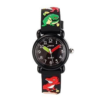 Jian Ya Na chicas Precioso reloj de los niños de dibujos animados, correa de silicona
