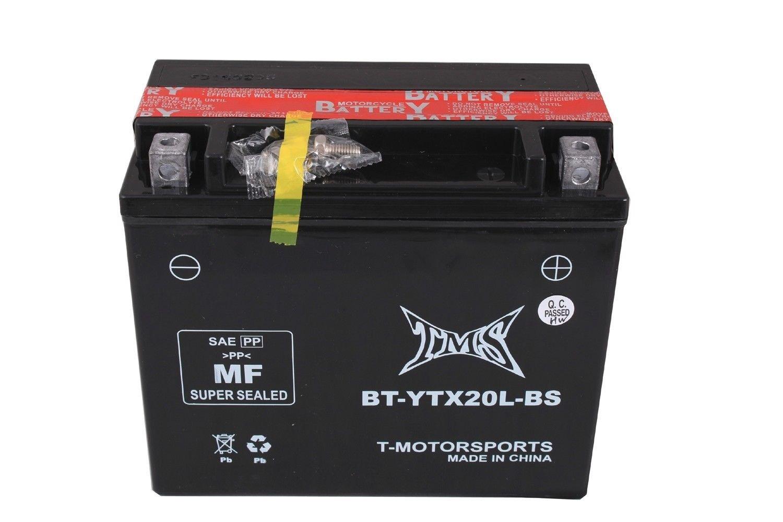Nueva YTX20L batería para YAMAHA YFM 400 450 KODIAK oso de peluche grande Lobezno 660 700 Grizzly: Amazon.es: Coche y moto