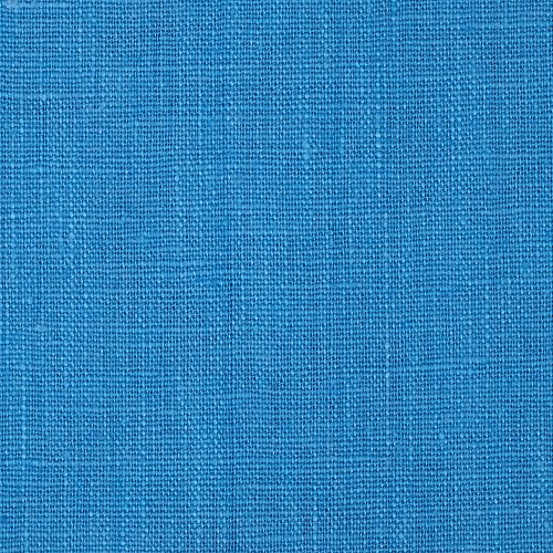 Noveltex Fabrics European 100% Washed Linen Cornflower ()