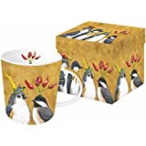 """Paperproducts Design Mug In Gift Box Featuring Spicing It Up Design, 5 x 4 x 4"""", Multicolor"""