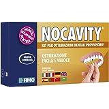 Nocavity NUOVA FORMULA Kit per Otturazioni Dentali Provvisorie. Isola la cavità dentale e riduce il dolore in caso di perdita di otturazioni, piccole carie e denti rotti