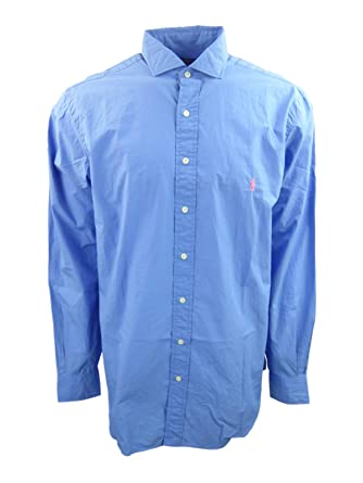 Men's Clothing NEW Polo Ralph Lauren Big and Tall Oxford Cotton Pony Logo Shirt Clothing, Shoes & Accessories