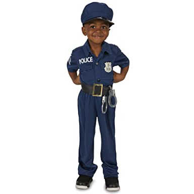sc 1 st  Amazon.com & Amazon.com: Realistic Police Officer Toddler Costume: Clothing
