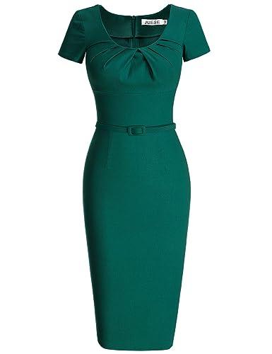 MUXXN 1950 Retro Vestiti Abiti Donna Eleganti Vestiti Anni 50 Vestiti Donna Eleganti da Cerimonia