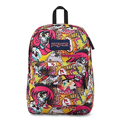 Jansport Digibreak Laptop Backpack - Pop Art
