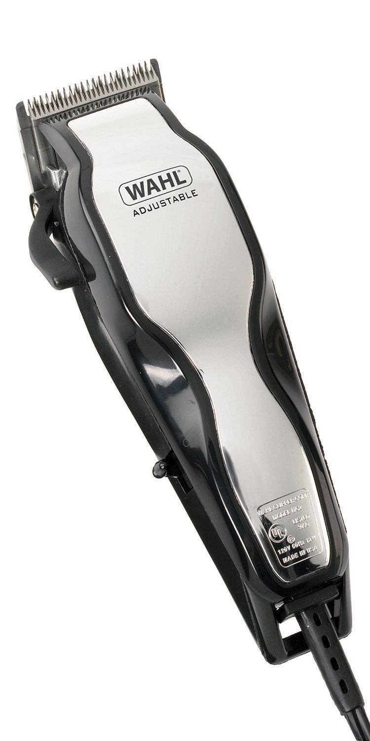 Brand New Wahl 79524-800 Chrome Pro Full Complete Home Hair Cutting Clipper Trimmer Set Prodhks