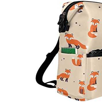 Amazon.com | ALAZA Red Fox Casual Backpack Lightweight Travel Daypack Student School Bag | Kids Backpacks