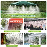 HIRALIY Misting System Outdoor Mist Cooling System