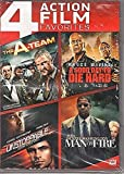 The A-Team (Theatrical and Unrated) / A Good Day to Die Hard / Unstoppable / Man on Fire