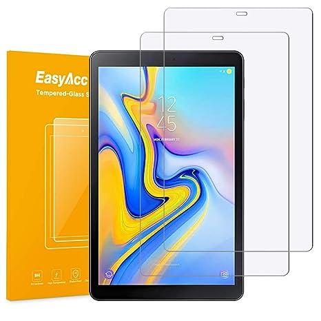EasyAcc Protector de Pantalla para Samsung Galaxy Tab A 10.5 Alta Definicion Cristal Vidrio Premium Transparente