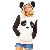 Womens winter hoodie Panda