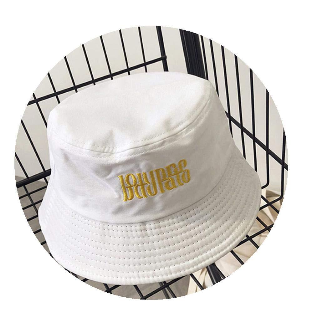Sun Hat Panama Bucket Hat Cotton Outdoor Beach Hat Chapeu Summer Men Cap for Women Hat White