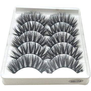Erholi New Women Makeup Cosmetic Natural Densely Slender False Eye Lashes False Lashes